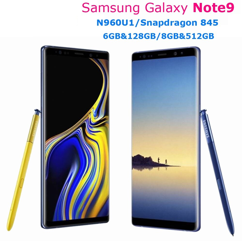 samsung-galaxy-note9-note-9-n960u-128gb-512gb-n960u1-unlocked-used-mobile-phone-845-octa-core-6-4-dual-12mp-6gb-8gb-nfc