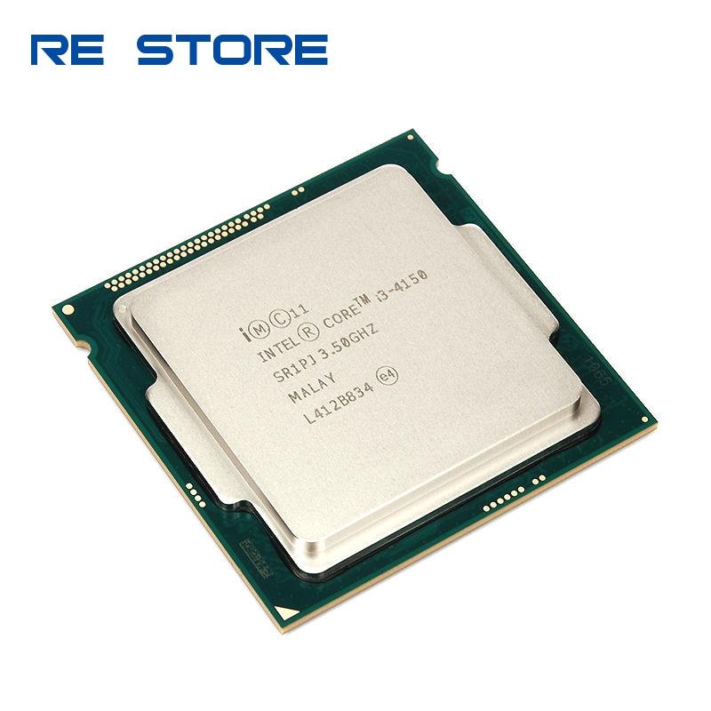 Фото Б/у процессор Intel Core i3 4150 3 5 ГГц SR1PJ двухъядерный LGA 1150|processor amd|processor trayprocessor e6750 |