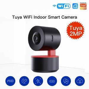 New Tuya Wifi Camera 1080P IP Camera Baby Monitor Automatic Tracking Two Way Audio Night View Surveillance Home Security Camera