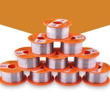 0.5/0.6/0.8/1/1.2/1.5mm fil à souder 63/37 FLUX 2.0% étain pour souder fil sans plomb fil à souder 50g soudure à souder