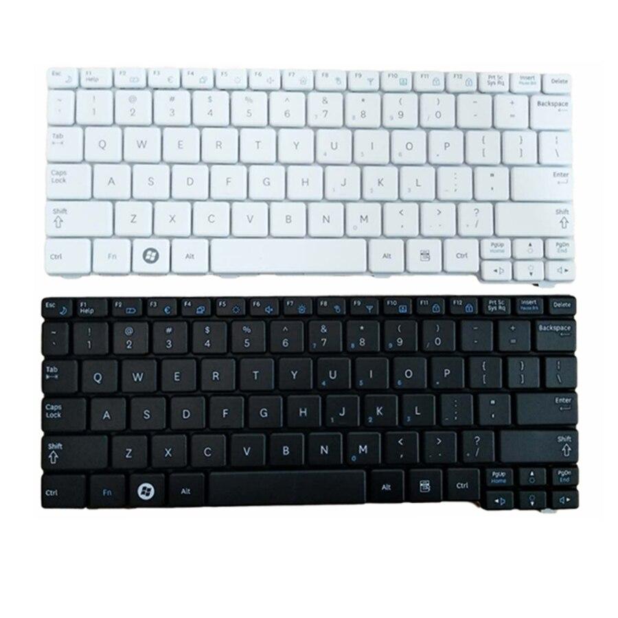 Novo Teclado DOS EUA para o Samsung N150 plus N143 N145 N148 N158 NB30 NB20 N102 N102S NP-N145 Portátil preto/branco