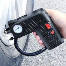 Gonfleur dair Portable compresseur pompe pneu LED 12V sécurité pneu marteau compresseur sans fil pour moto électrique Auto voiture vélo
