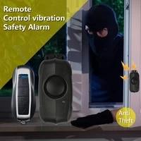 Alarme de Vibration sans fil  Installation gratuite  velo  voiture electrique  moto  maison  Anti-vol  150 DB
