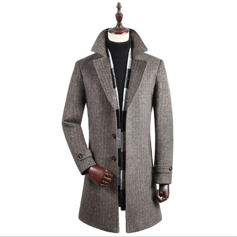 Casaco informal de negocios para hombre, ropa Masculina de invierno, nuevo, 2020