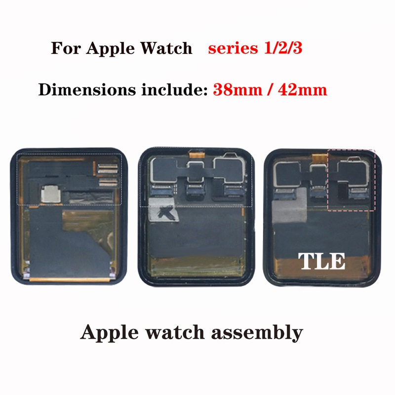 For iWatch Lcd Display For Apple Watch Series 1 42mm/38mm Sapphire Digitizer Touch Screen For Apple Watch 1 2 3 4 5 enlarge