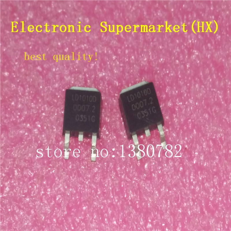 50pcs lot mdd1752 mdd3752 to 252 100% New original LD1010D  LD1010 TO-252 50pcs/lot IC In stock!