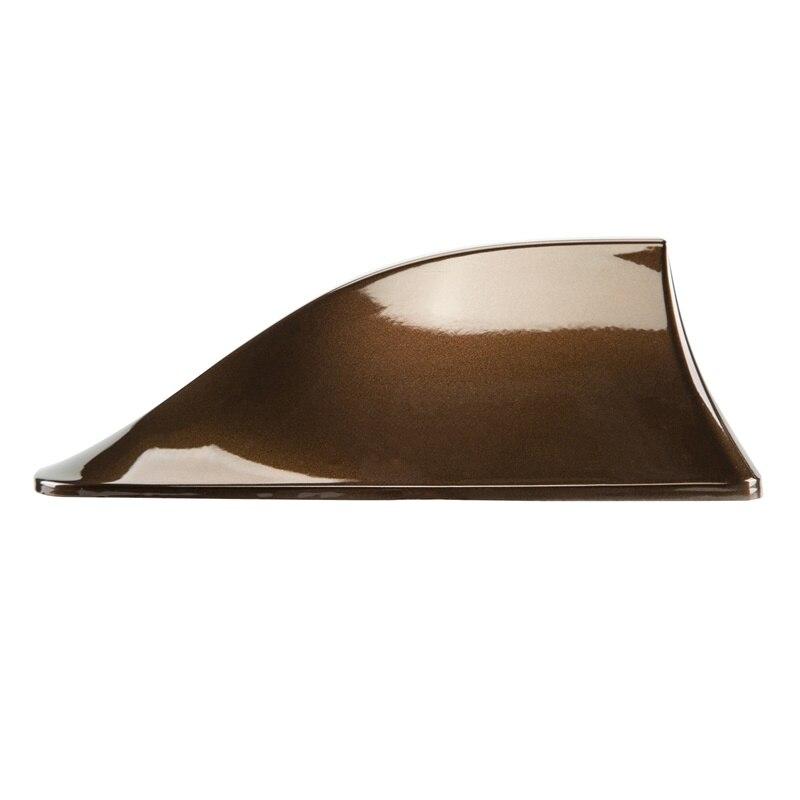 Posbay 1 шт. автомобильная антенна плавник акулы коричневый автоматический сигнал антенны на крышу усилитель для Skoda hyundai для kia и fiat радио антенна