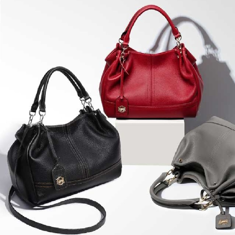 High quality genuine leather bags women ZOOLER luxury leather handbags women bags soft cow shoulder bag hot bolsa feminina#8160