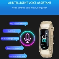 smart bracelet voice call heart rate blood pressure sleep call reject smartwatch watches for men smart watch cardio