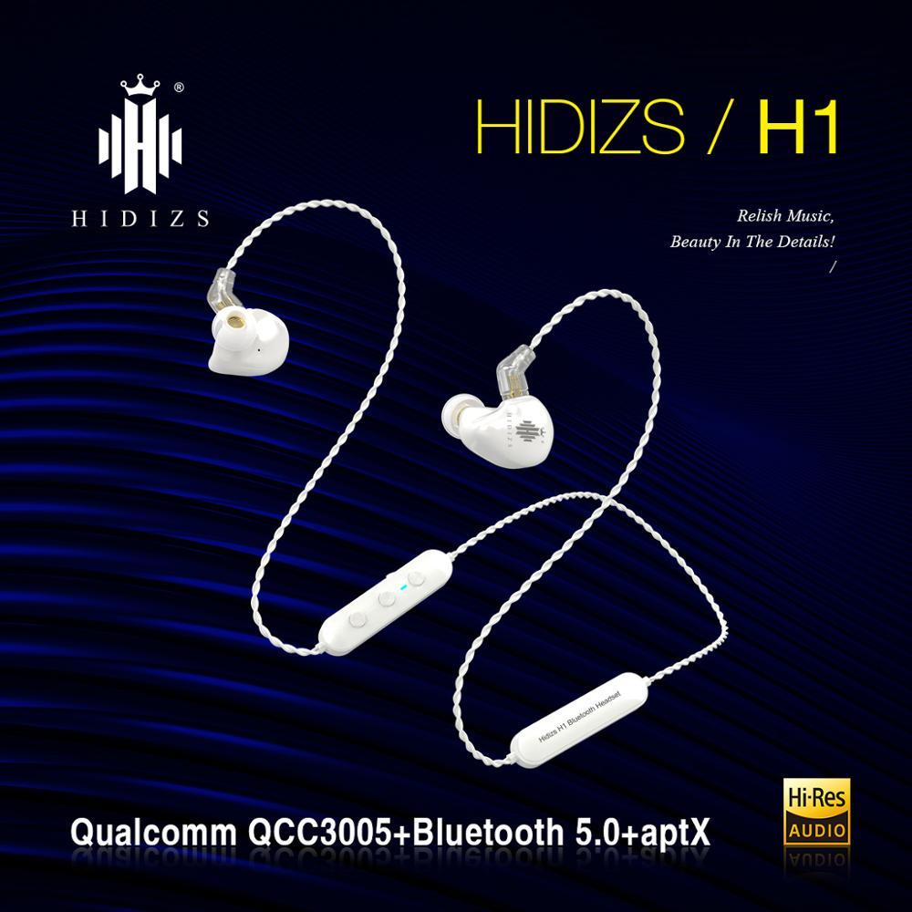 Hidizs يستأجر 5.0 سماعات بلوتوث H1 الرياضة شريط حول الرقبة سماعة لاسلكية APT-X ، APT-XLL ، AAC ، SBC مع هيئة التصنيع العسكري للهواتف الذكية/الكمبيوتر