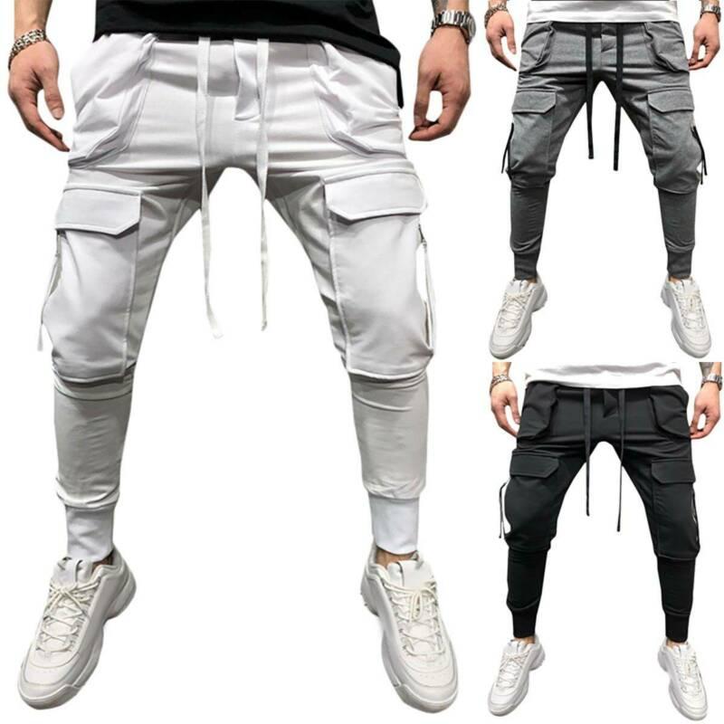 Мужские боевые рабочие брюки, тактические облегающие обтягивающие джоггеры, Стрейчевые брюки