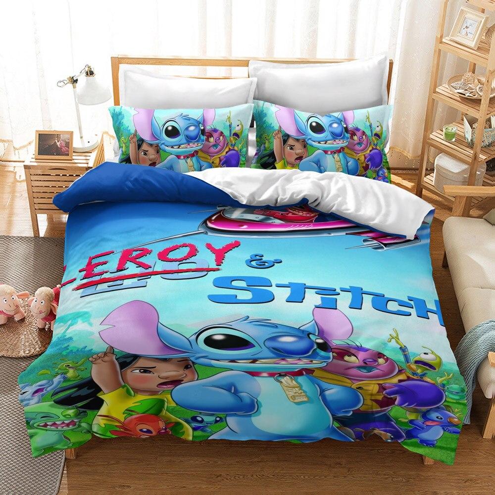 Conjunto de cama do lilo e stitch