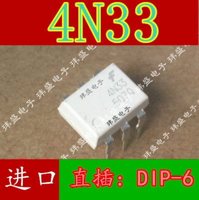10pcs 4N33M DIP-6 4N33SM 4N33