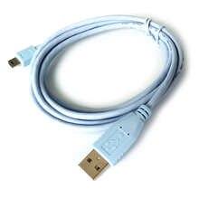 Синий mini USB 5P Тип USB A входящий штекер для Cisco1941 или 2921 кошки или для консольный кабель