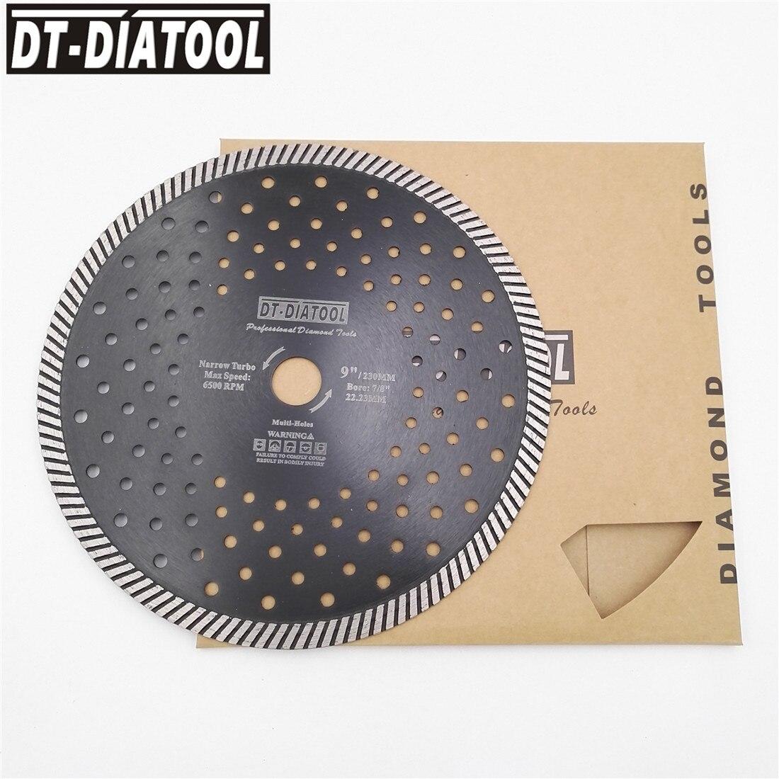 Бриллиантовые горячепрессованные узкие режущие диски, режущие диски для гранита, мрамора, камня, режущие диски, 2 шт., 230 мм/9 дюймов