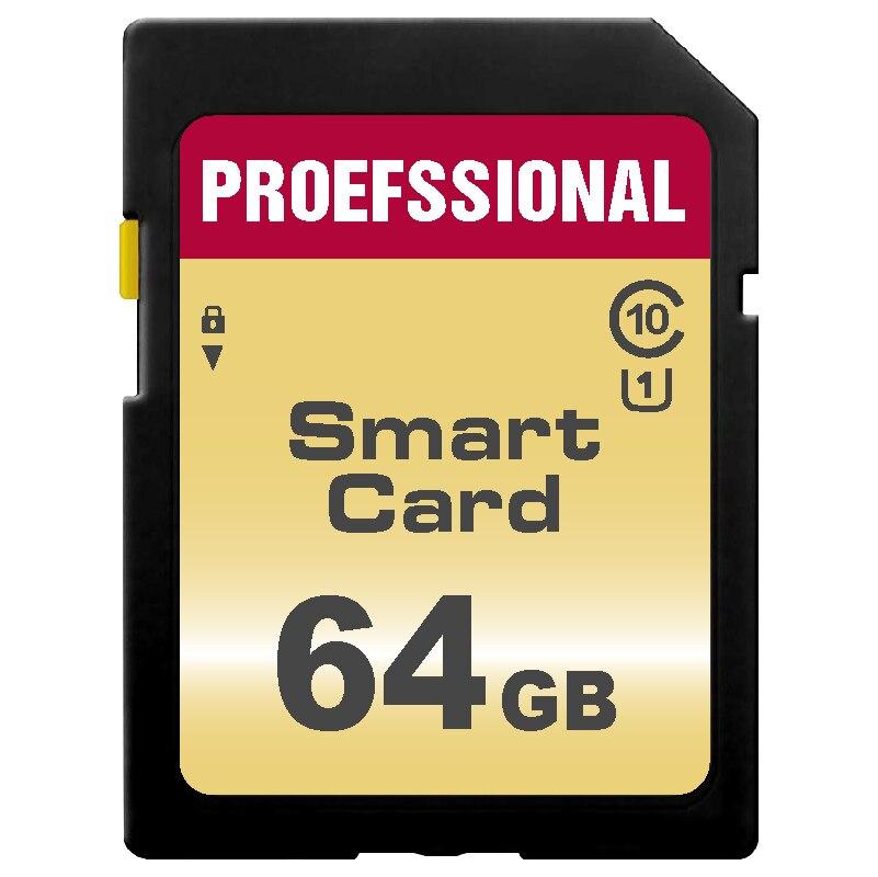 Tarjeta Original SD de 128GB de tarjeta de memoria Flash 32GB 64GB tarjeta sd Clase 10 Tarjeta de 16GB, 8GB, GB cartao de memoria para cámara SLR
