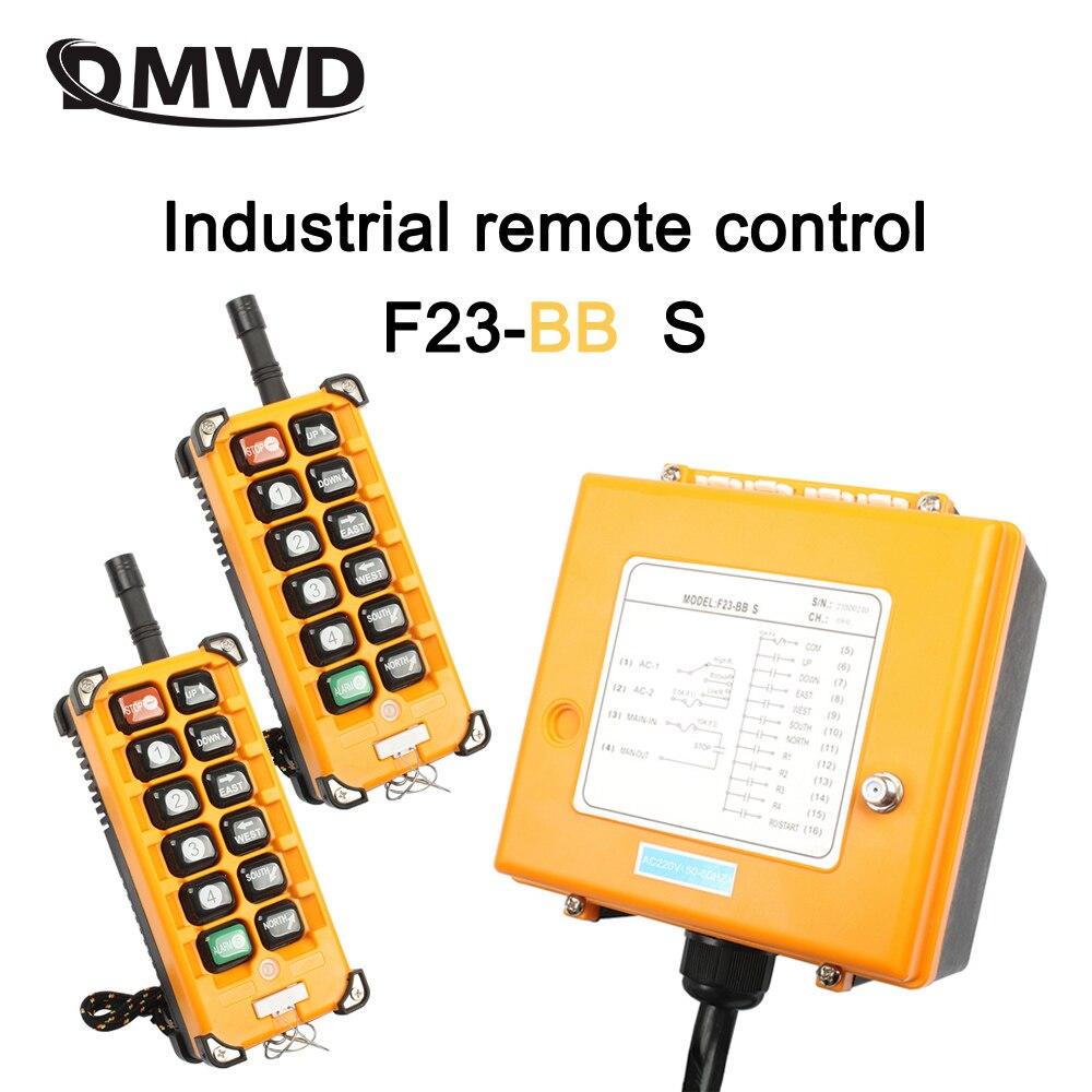 الصناعية اللاسلكية راديو تحكم عن بعد التبديل 1 استقبال + 2 الارسال سرعة التحكم رافعة كرين التحكم رفع رافعة F23-BB