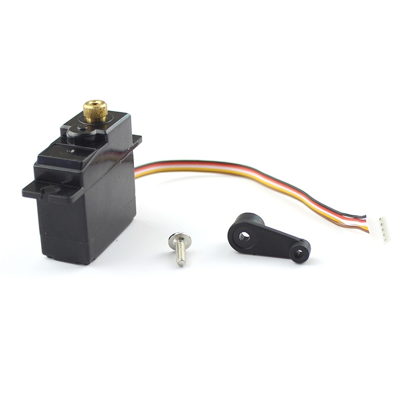 for WLTOYS 144001 Upgrade Metal 5 Wire Gear Servo Parts for WLTOYS 144001 1/14 RC Off Road Car Acces