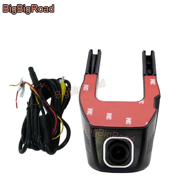 BigBigRoad For Hyundai Matrix H-1 Azera Ioniq Avante HB20 I40 IX20 Aslan Venue Coupe Car Video Recorder Dash Cam Camera Wifi DVR