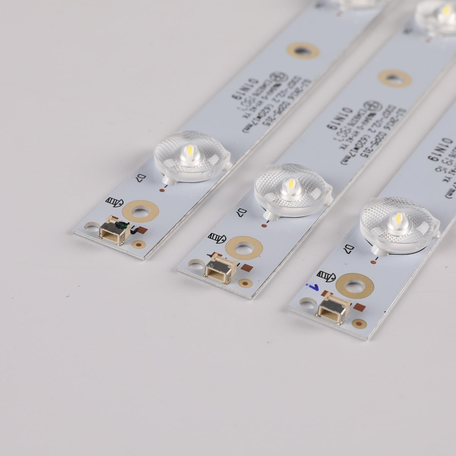 620mm LED Backlight Strips 7 Lamp LB-PF3030-GJD2P53153X7AHV2-D For Philips 32PHT4101/60 32PHT41321/12 For LG 32LJ500V LED Bars