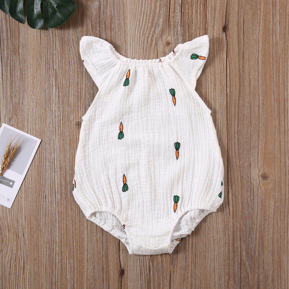 baby girl clothes autumn lattice knitted baby clothes newborn baby girl romper cotton baby cardigan sweater romper jumpsuit Newborn Infant Baby Girl Clothes Knitted Cotton Fly Sleeve Print Romper Jumpsuit Outfit Causal Summer Baby Clothes 0-24M