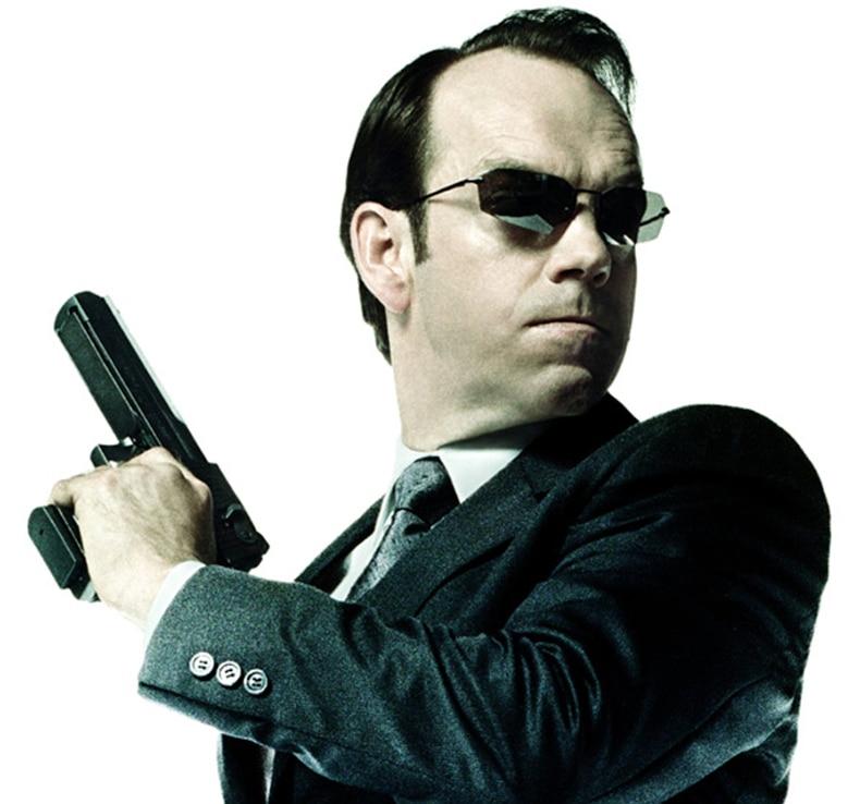 New Matrix Neo Movie Retro Square Rimless Sunglasses Men Agent Smith Sun Glasses