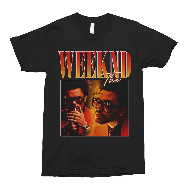 O weeknd 2.0 vintage unisex tshirt masculino feminino bonito gráfico topos engraçado camiseta teen girl t camisa preto