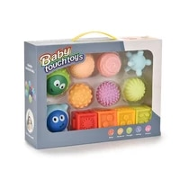 sensory exploration teething relief baby infant softtextured silicone toys