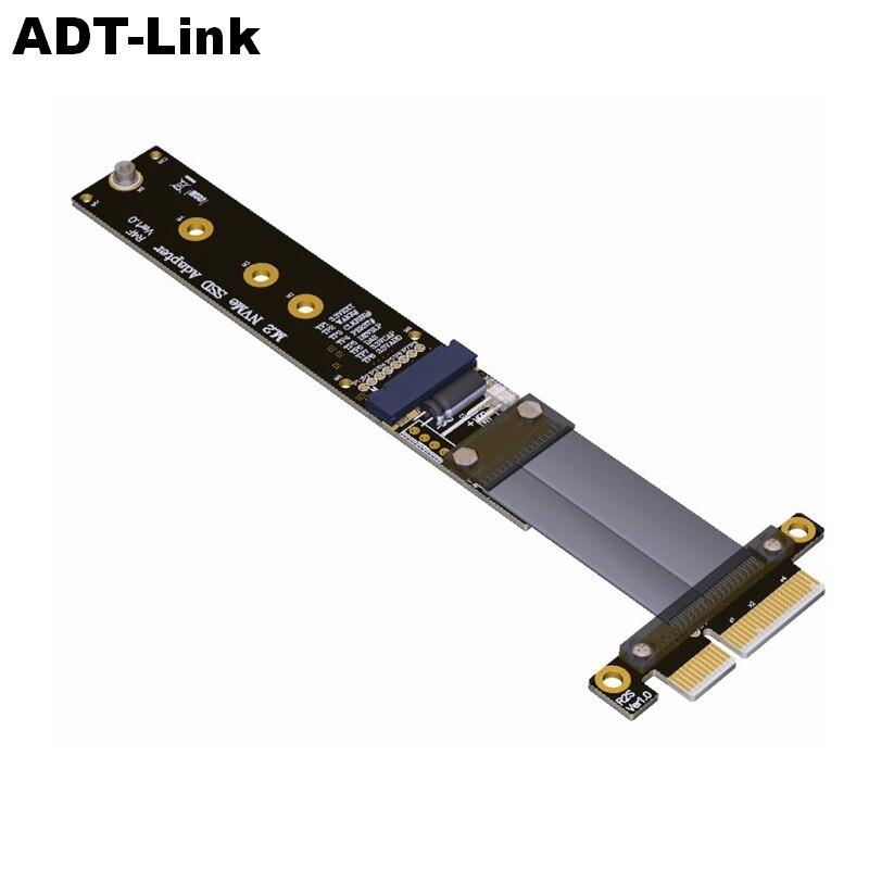تمديد M.2 NVMe SSD لمحرك الأقراص الصلبة ، بطاقة Riser R44SF/R24SF M2 إلى PCI Express 3.0 X4 PCIE ، سرعة كاملة ، 32G/bps M