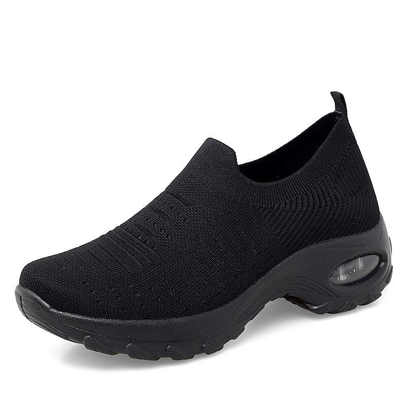 Fires-Zapatillas de correr para Mujer, zapatos deportivos para caminar, ligeras y suaves,...
