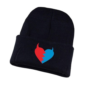 Game DARLING in the FRANXX Knitted hat Cosplay hat Unisex Print Adult Casual Cotton hat teenagers winter Knitted Cap