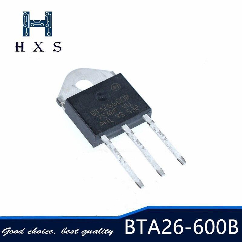 5 uds BTA26-600B TO-3P BTA26600B BTA26-TO3P BTA26-600 26-600B nuevo y original
