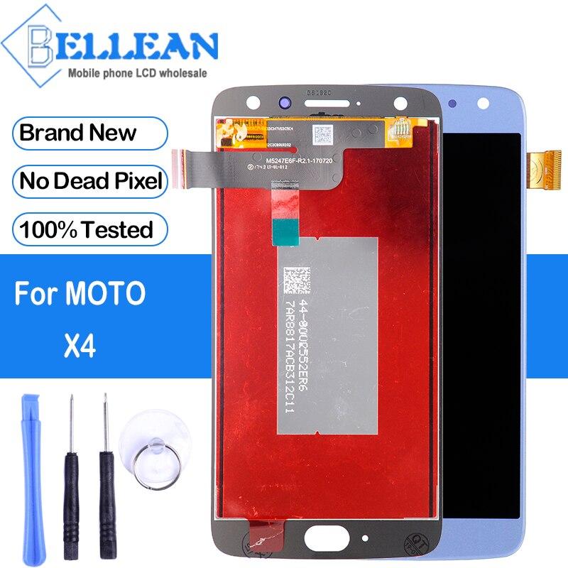 Pantalla promocional Dinamico para Moto X4 Lcd con pantalla táctil para MotoRola X 4th Gen LCD digitalizador montaje envío gratis + herramienta