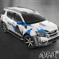 car stickers for isuzu mu x body exterior sports decoration fashion decals mux modification supplies