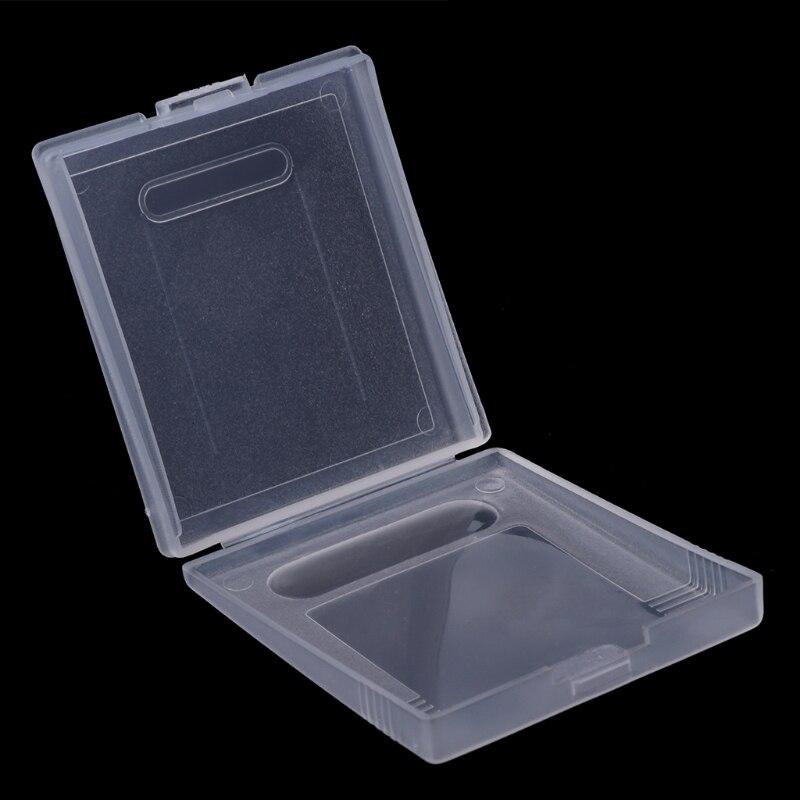 Cartucho de plástico para nintendo game boy, capa para proteção contra poeira e resíduos, cores gbc, novo, 2021