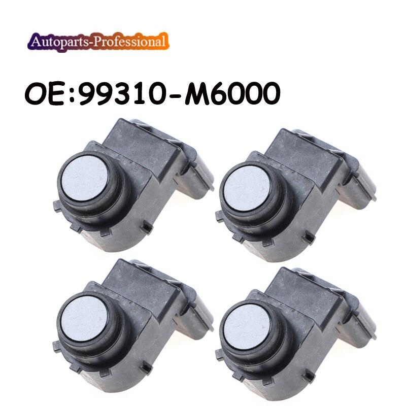 4 unids/lote de coches para Kia FORTE Sensor de aparcamiento PDC de alta calidad 99310-M6000 99310M6000 autopartes