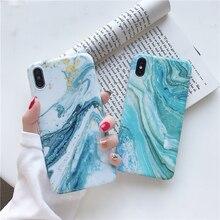Para samsung a70 caso de luxo pedra de mármore verde caso telefone para samsung a41 a71 a50 a40 a51 5g fosco silicone caso para iphone 11