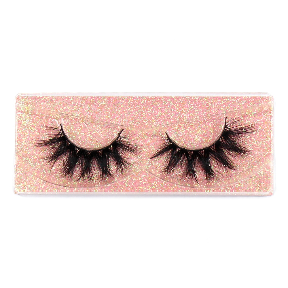 Foxesji Makeup Eyelashes 3d Mink Lashes Fluffy Soft Wispy Volume Natural Long Cross False Eyelashes Eye Lashes Reusable Eyelash False Eyelashes Aliexpress
