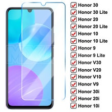 9D Full Protective Glass For Huawei Honor 30 20 10 Lite V30 V20 V10 Tempered Glass Honor 9 8 Lite 30