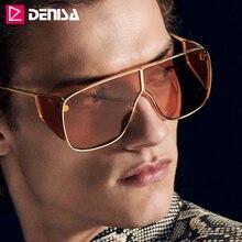 DENISA Unique Design Frame Oversized Sunglasses Man High Quality Big Trendy Sunglasses Brand Woman 100%UV400 Zonnebril G2056