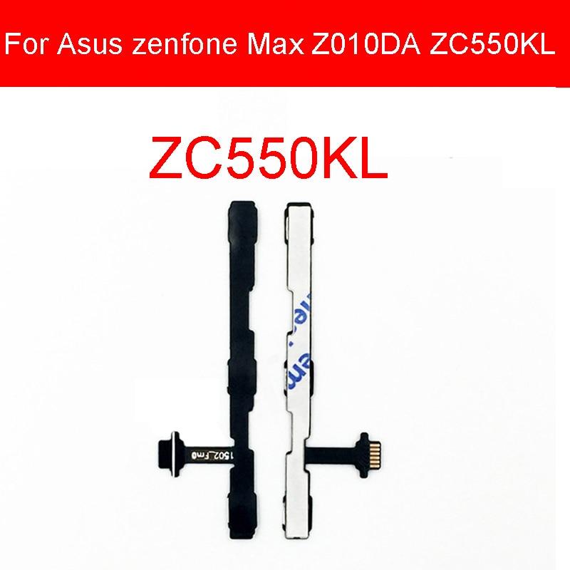 Fuerza volumen flexible Cable para Asus Zenfone 4 Selfie pro ZD552KL/Zenfone Selfie ZD551KL tecla lateral de volumen para Asus Max Z010DA ZC550KL