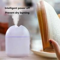 Mini humidificateur dair ultrasonique de 200ML  diffuseur dhuile essentielle et darome pour maison et voiture  brumisateur USB avec lampe de nuit LED