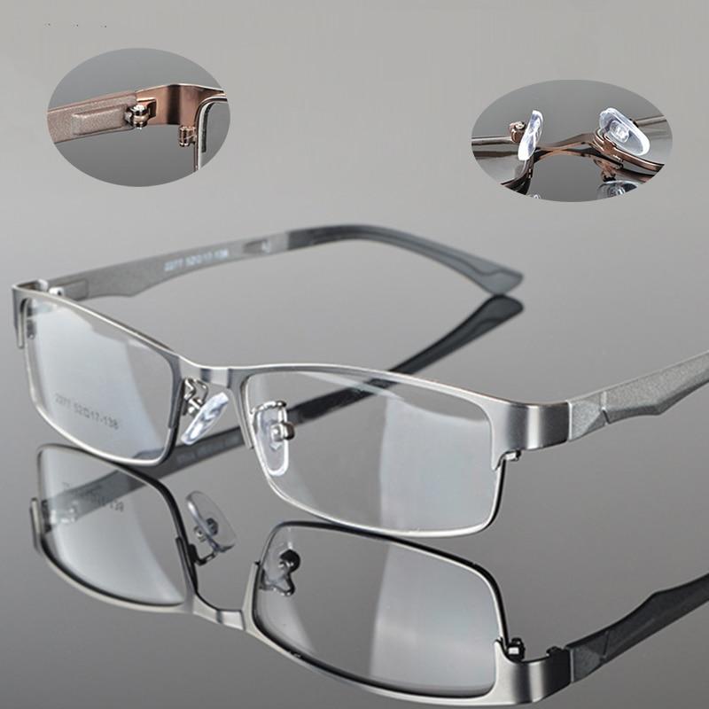 Montura de gafas rectangular para hombre y mujer, gafas con marco completo para gafas de negocios, montura Flexible TR90