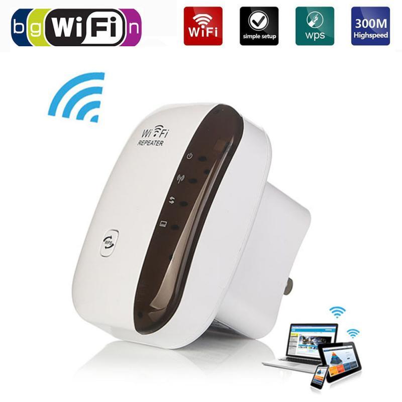 Repetidor Wifi extensor amplificador de señal 300Mbps rango inalámbrico 802,11 Wifi extensor amplificador de señal 300Mbps WiFi Booster 2,4G