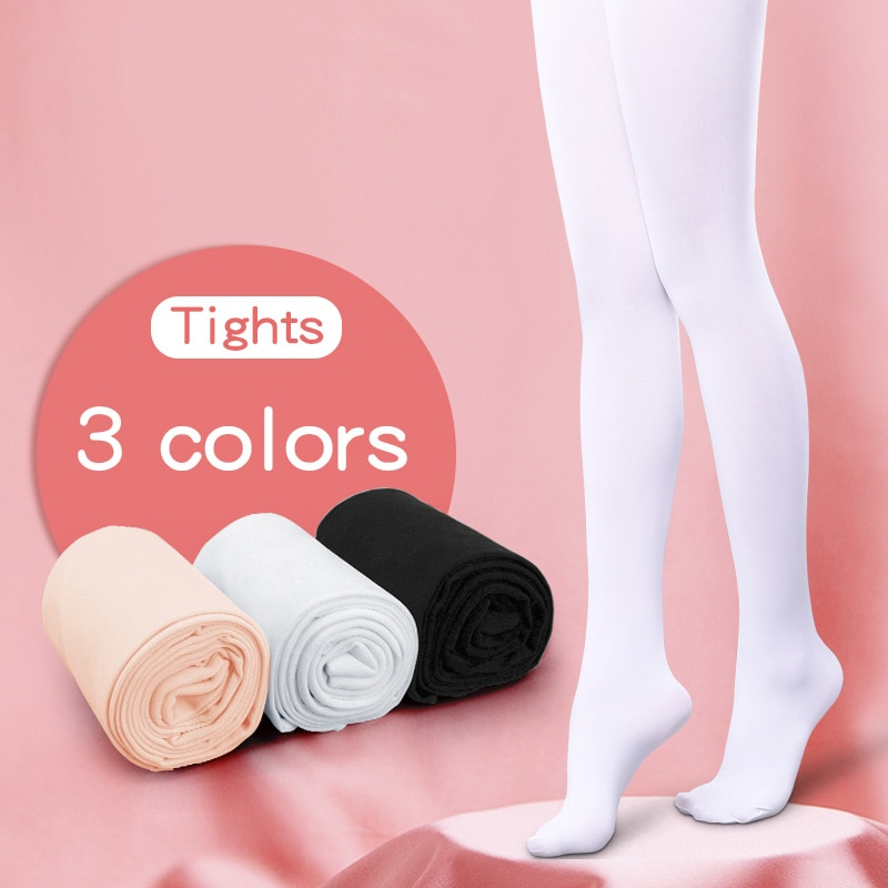 Children Girls Ballet Dance Tights Kids  Nylon Leggings Gymnastics Dance Ballet Pantyhose 80D 3 Pairs or 2 pairs