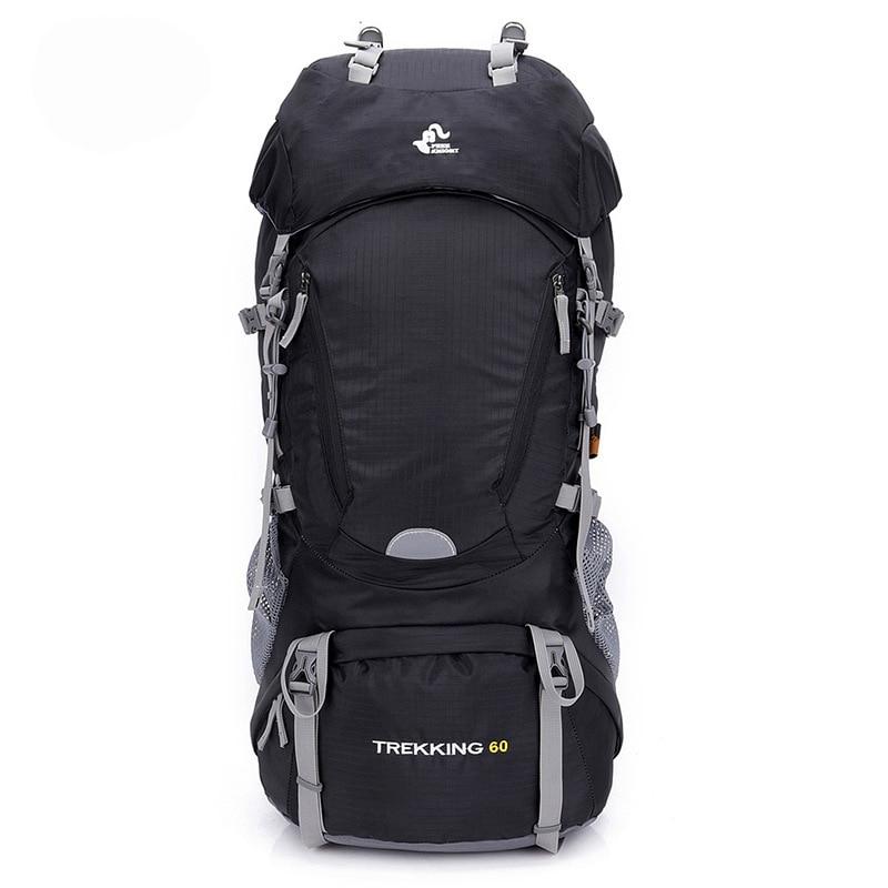 حقيبة ظهر Free Knight 60l للتنزه في الهواء الطلق, حقيبة ظهر رياضية ، حقيبة سفر ، حقائب تسلق ، مقاومة للماء ، حقيبة ظهر للرحلات والتخييم