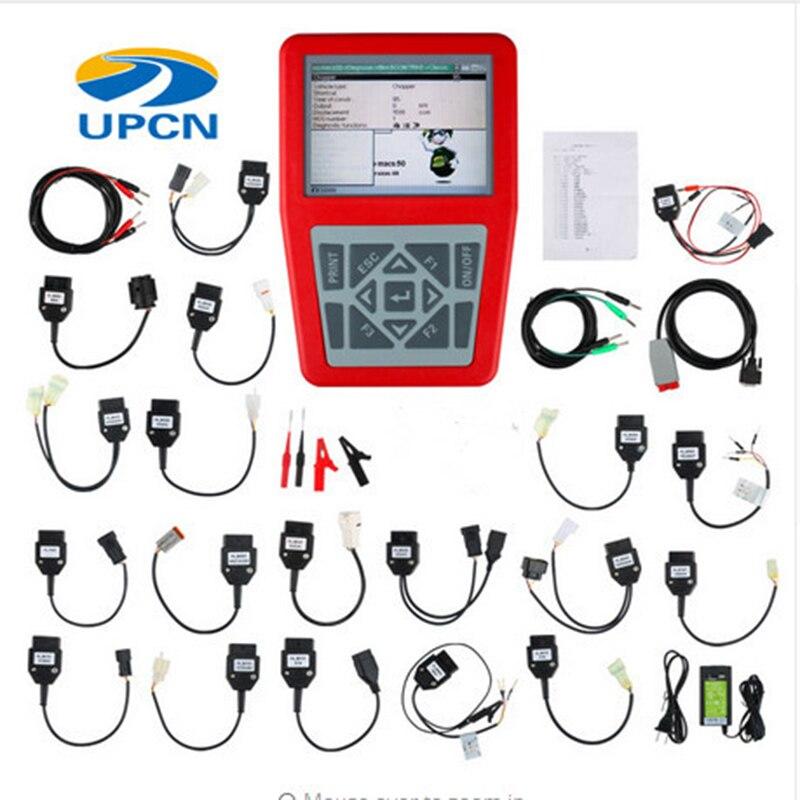 IQ4bike diagnóstico V40 para motocicletas escáner Universal de motocicleta IQBike para BMW para HONDA herramientas de diagnóstico escáner de motocicleta
