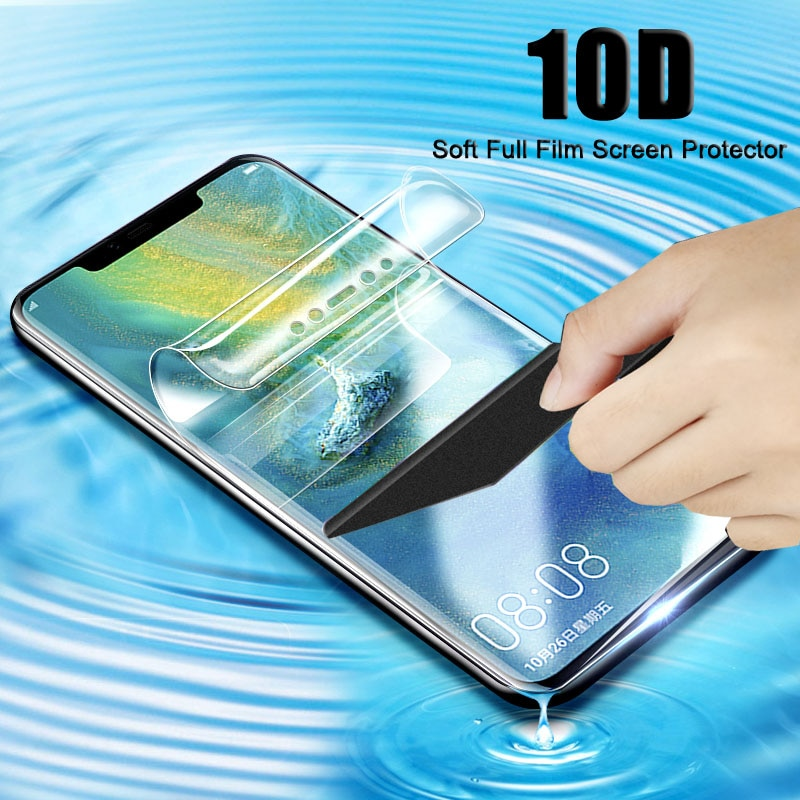 Full Protective Soft Hydrogel Film Tpu For SONY XZ1 XZ2 Compact XZ2 XZ1 Compact Screen Protector Film