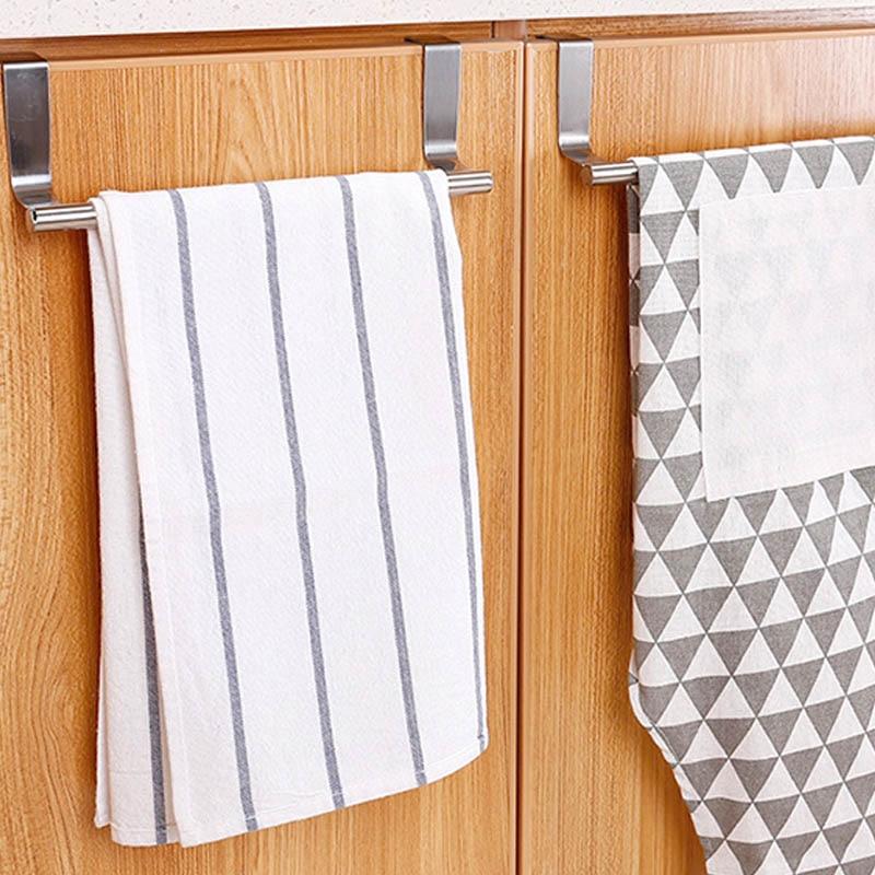 Suporturi pentru prosoape de două dimensiuni peste ușa dulapului de - Organizarea și depozitarea în casă - Fotografie 5