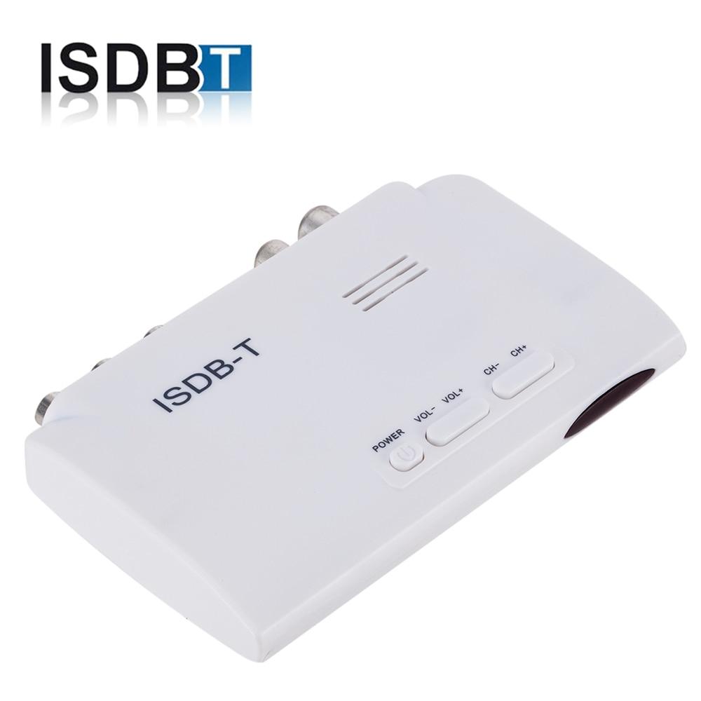Telewizja cyfrowa ISDB-T/ISDB-C receptora odbiornik tunera TV isudar ISDB T TDT Set-Top Box H.264 HDTV dekoder do antena telewizyjna VHF UHF Peru Brasil